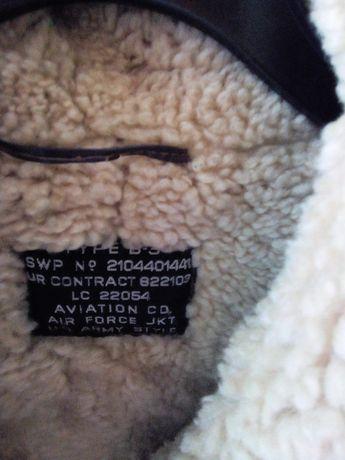 Casaco, blusão aviador! Com os detalhes todos, sheepskin!