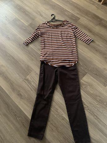 Zestaw bluzka i spodnie rozm S