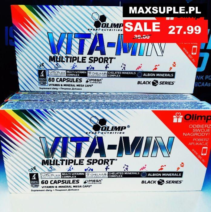 Maxsuple.pl Olimp VITA-MIN Multiple SPORT – 60 KAPS Nowa Sól - image 1