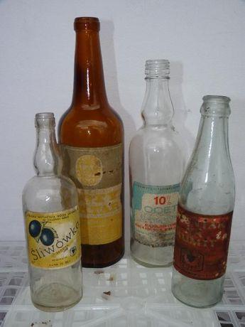 Stare butelki PRL Zielona Góra Grunberg