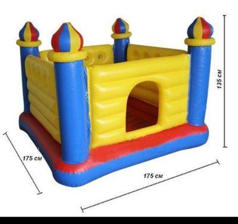 Детский надувной батут Intex (Интекс) Замок 175х175х135 см
