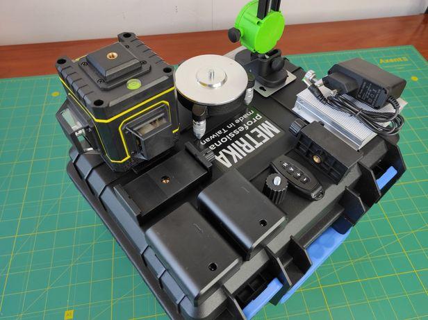 Лазерный уровень Metrika 3D (Taiwan) 2АКБ, пульт, кейс