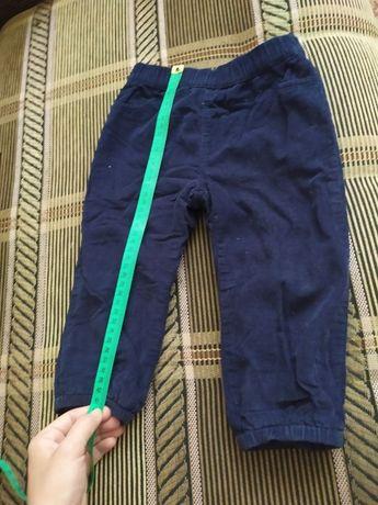Брюки штаны для мальчика с утеплением из флиса р. 86 In extenso
