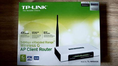 Router bezprzewodowy (wi-fi) TP-LINK TL-WR543G