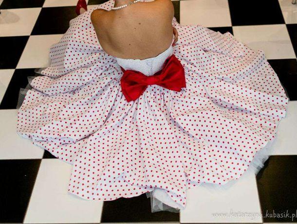 suknia wieczorowa karnawał ślubna pin up retro