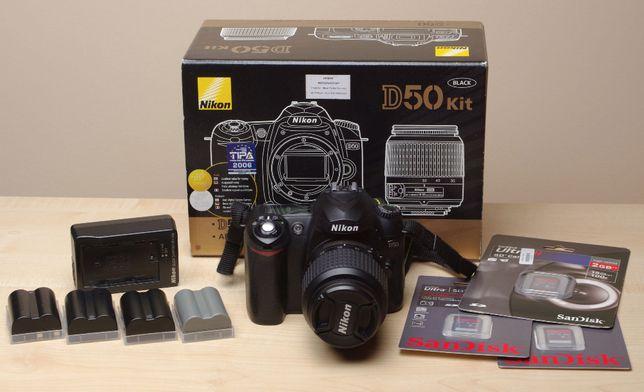 Lustrzanka cyfrowa Nikon D50