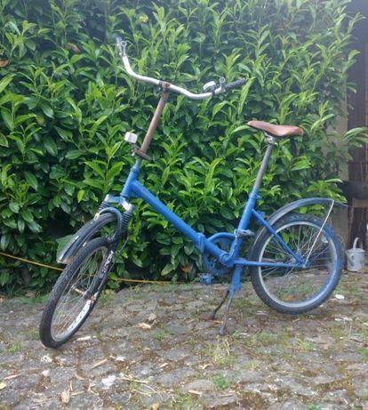 Bicicleta de cidade dobrável