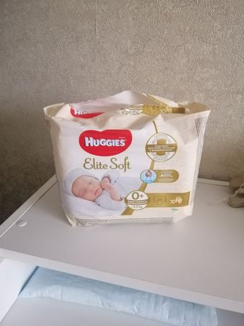 Подгузники Huggies Elite Soft Newborn 0+ (до 3,5 кг)