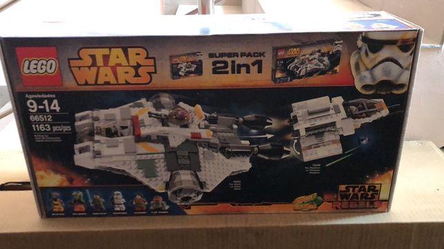 Конструктор LEGO Star Wars 66512 Супернабор 2в1