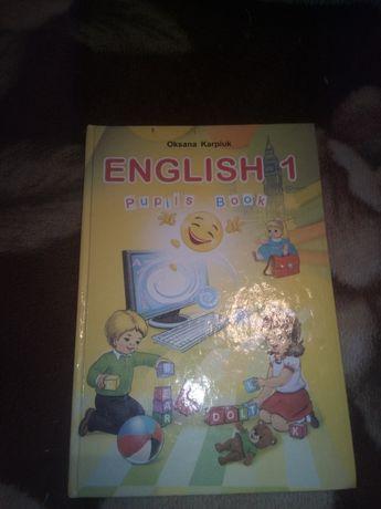 Английский язык для 1 класа О . Карпюк