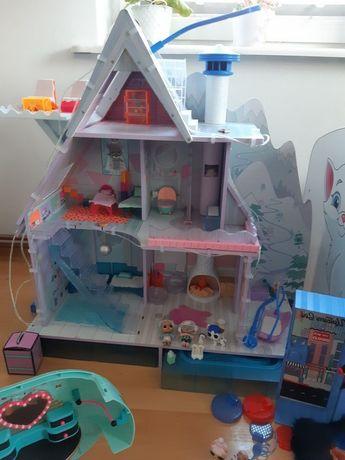 Lol winter house domek zimowy lalki