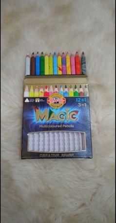 Zestaw Magic KOH-I-NOOR grube trójkątne