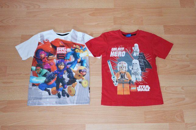 Bluzeczki 110/116 LEGO STAR WARS i Wielka Szóstka