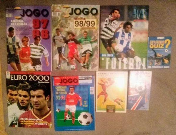 Revistas Futebol Jornal O Jogo e A Bola + diversos
