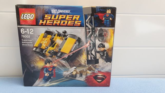 LEGO 76002 Superman Metropolis Showdown
