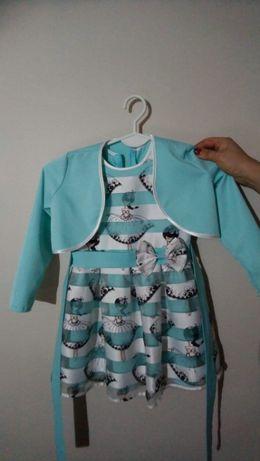 Sukienki dla dziewczynki roz. 116cm
