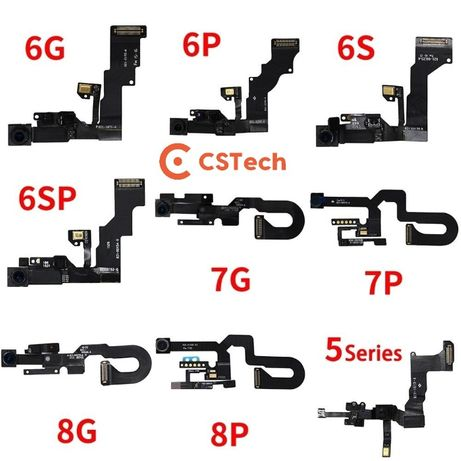  Flex sensor proximidade , câmara frontal iPhone 5/5S/6/6S/7/8/X Plus