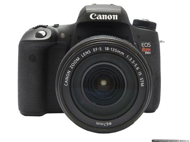Canon EOS Rebel T6s (760D) Base, w/ 18-135mm з США