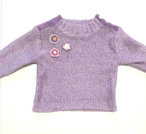 Sweterek fioletowy 86