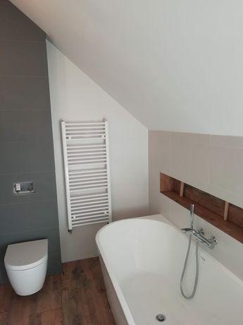 Grzejnik łazienkowy biały