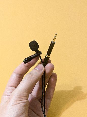 Петличный микрофон (петличка) Andoer EY-510A ОРИГИНАЛ