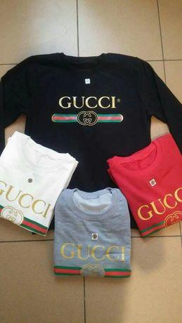 Bluzy damskie z logo Levis Boss Armanii Gucci kolory S-Xl!!!