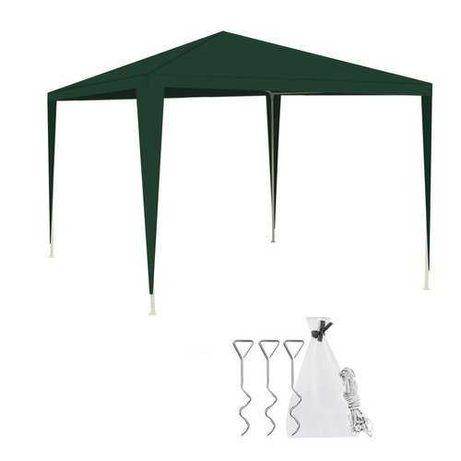 Pawilon Ogrodowy 3x3 DACH + STELAŻ parasol namiot daszek do ogrodu