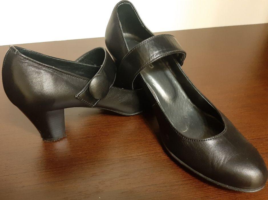 Туфли женские, черные. Maria 38 Харьков - изображение 1
