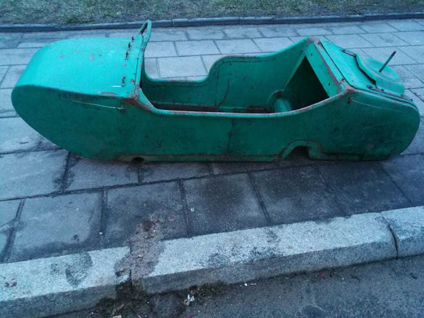 kosz do motoru Ural
