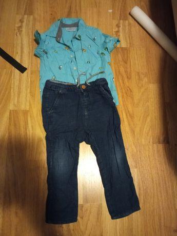Spodnie i koszula 86