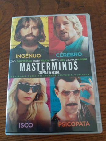 Filme DVD Masterminds como novo