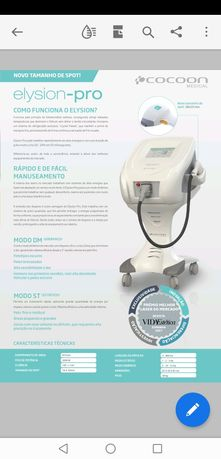Máquina laser Diodo profissional