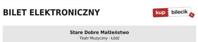 2 x Bilety na koncert SDM Stare Dobre Małżeństwo 11.10.2021 ŁÓDŹ