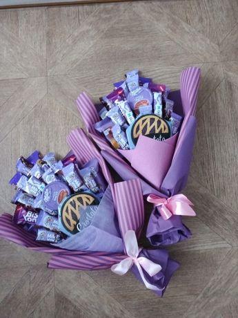 Букет из конфет Милка