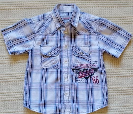 Super koszula REBEL rozm 110, na 4-5 lat