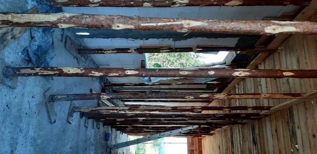 Stemple drewniane budowlane