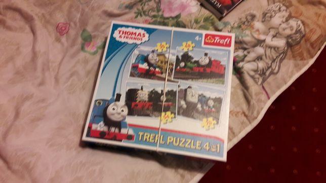 Trefl puzzle Tomek i przyjaciele 4 w 1