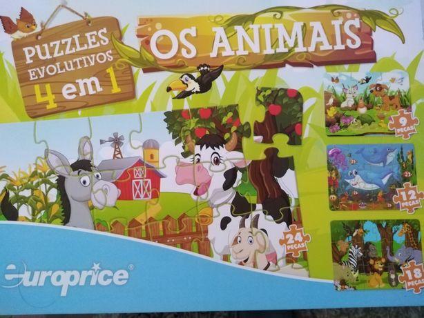 Puzzle os animais