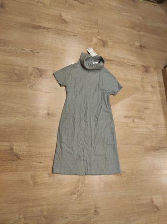 szara sukienka Orsay 36/S