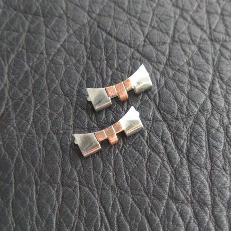 Rolex maskownice endlink różowe złoto Datejust Jubilee