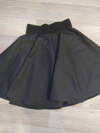 Спідничка для дівчаток, чорного кольору