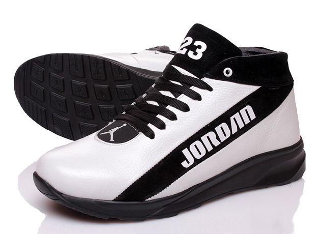 Білі чоловічі зимові кросівки Jordan Prime / Мужские зимние кроссовки