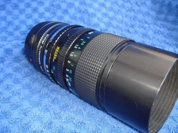 obiektyw +telekonwerter X2 VIVITAR do OLYMPUS OM system