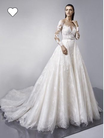 СРОЧНО ПРОДАМ ! ENZOANI Mallory коллекция 2018 года свадебное платье