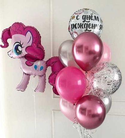 Гелиевые шары,воздушные шарики на выписку,гелевые,геливые