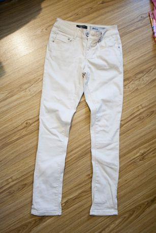 бежевые джинсы скини new look на рост 140-150 см