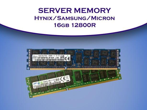 DDR3 16GB ecc reg 12800R cерверная память Samsung
