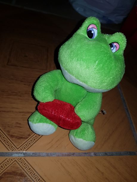 Pluszowa żaba pluszak zabka