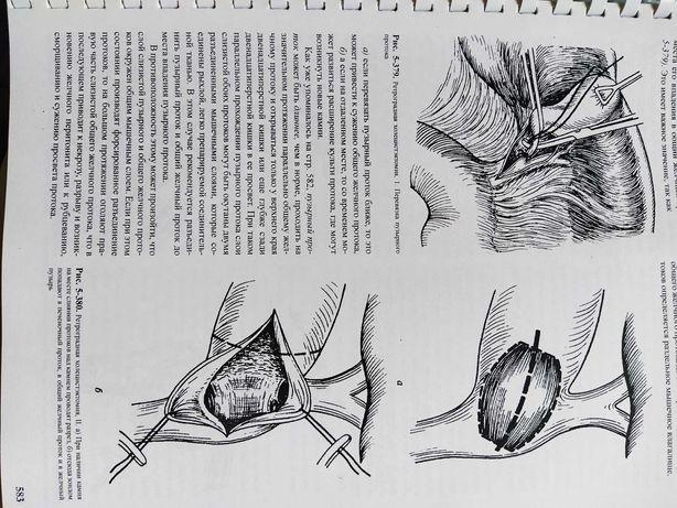Книги з хірургії і анатомії