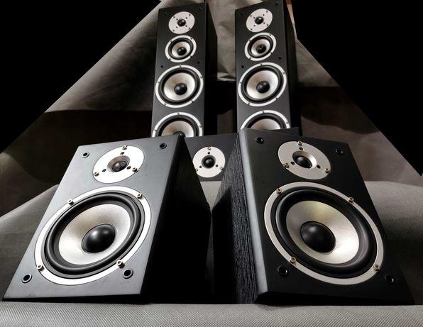 Zestaw Głośników 5.0 Onkyo Quadral Quintas 5000RII BLACK 910W Komplet